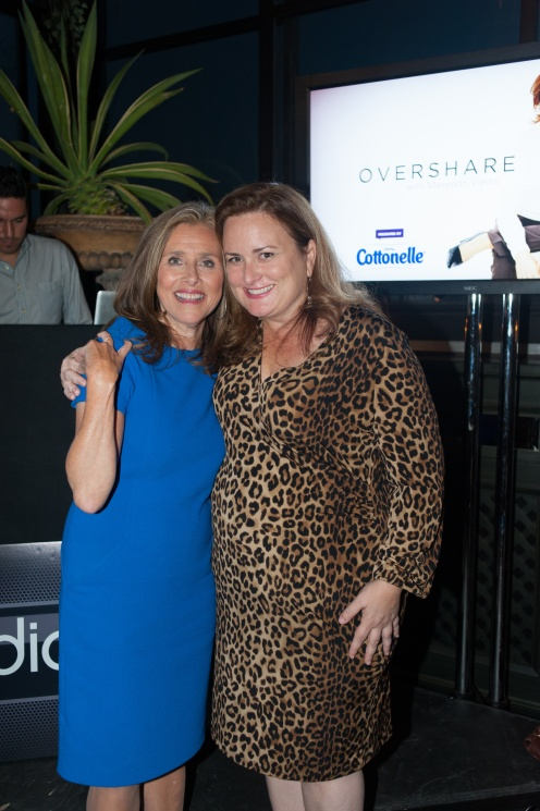 "Meredith Vieira and Mary-Liz McDonald, EP ""Lives with Meredith Vieira"" / photo: Luis Antonio Ruiz"